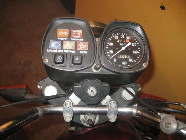 Приборы на мотоцикл своими руками